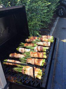 Smoked Asparagas